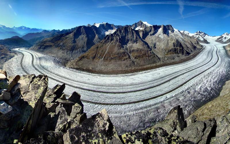 Ghiacciaio Aletsch e passi CH
